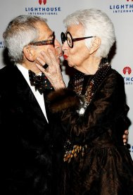 Carl, her husband of almost 70 years which allows her to kiss him with red lipstick. (my boyfriend doesn't allow that)