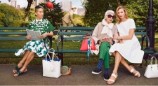 "Modelling for the SS15 campaign of Kate Spade and have Karlie Kloss as your ""granddaughter""."
