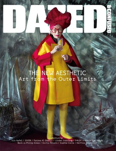 She's a cover girl! here for dazed magazine.